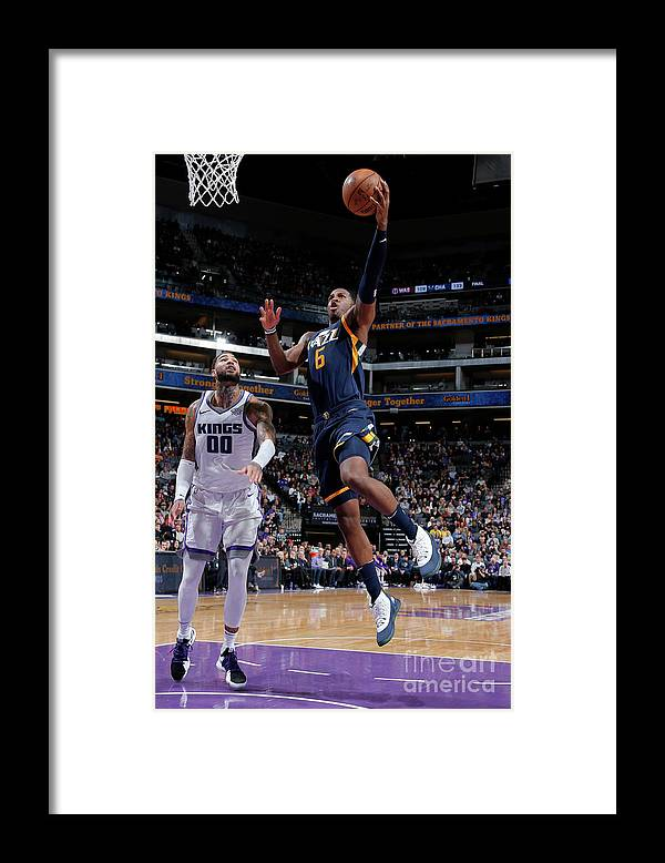 Nba Pro Basketball Framed Print featuring the photograph Joe Johnson by Rocky Widner