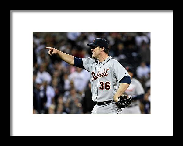 Ninth Inning Framed Print featuring the photograph Joe Nathan by Denis Poroy