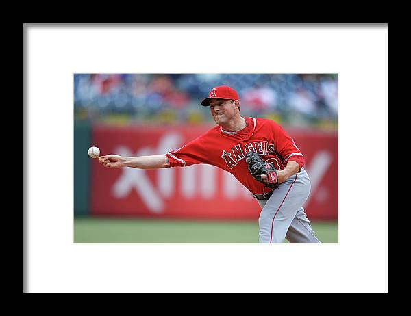 Ninth Inning Framed Print featuring the photograph Joe Smith by Drew Hallowell