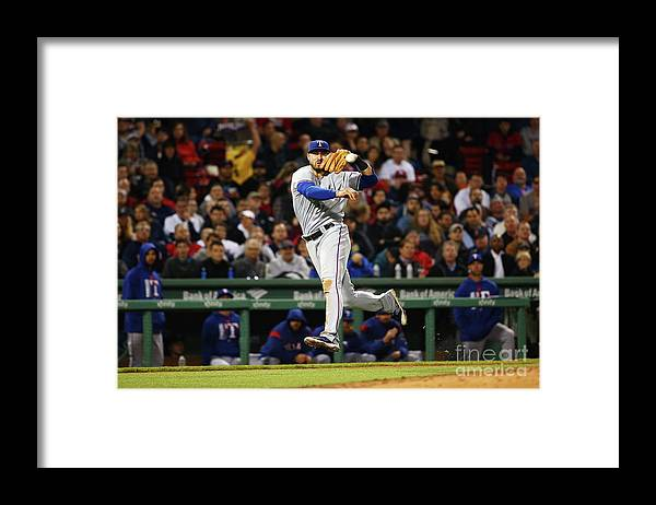 People Framed Print featuring the photograph Joey Gallo by Adam Glanzman