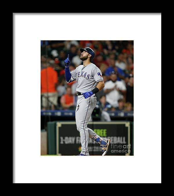 Ninth Inning Framed Print featuring the photograph Joey Gallo by Bob Levey