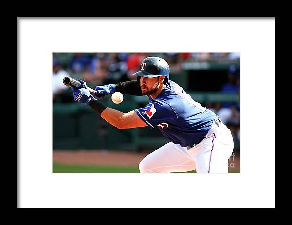 Three Quarter Length Framed Print featuring the photograph Joey Gallo by Ron Jenkins