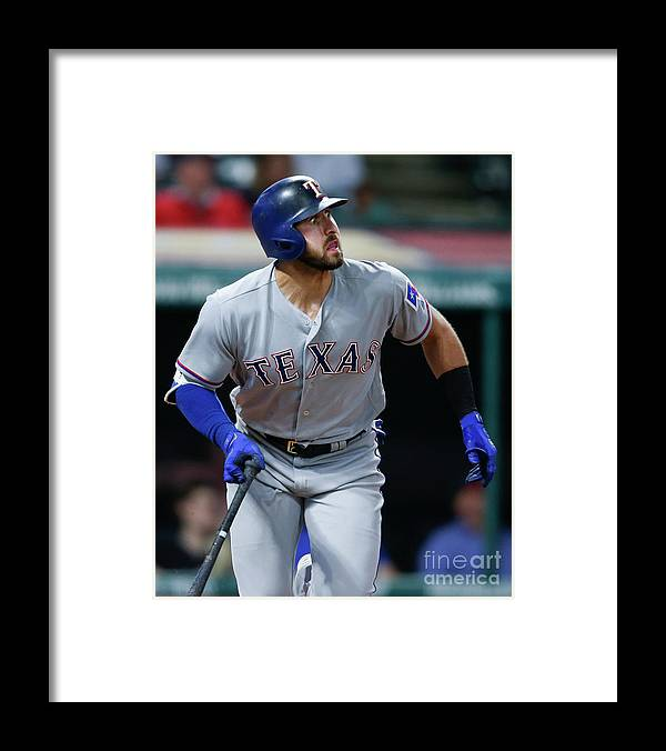 People Framed Print featuring the photograph Joey Gallo by Ron Schwane