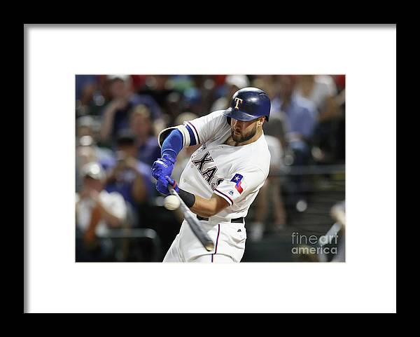 Three Quarter Length Framed Print featuring the photograph Joey Gallo by Ronald Martinez