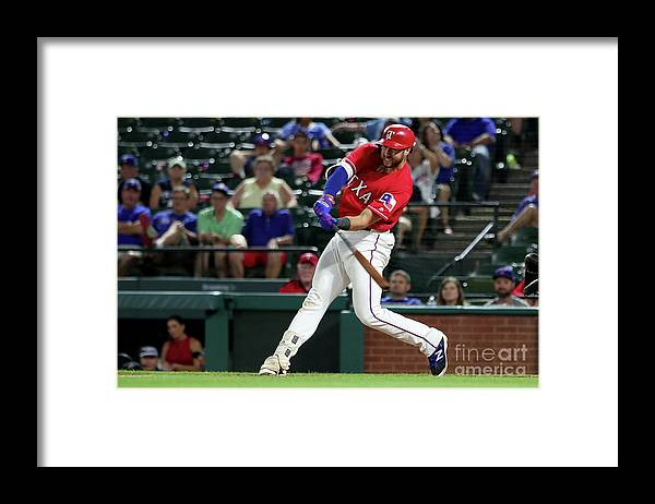 People Framed Print featuring the photograph Joey Gallo by Tom Pennington