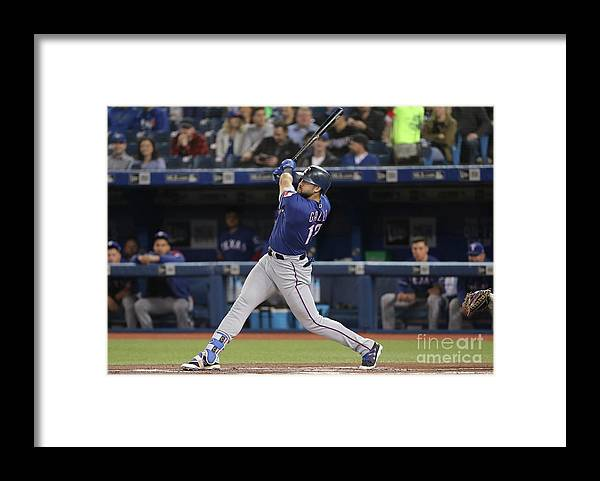 People Framed Print featuring the photograph Joey Gallo by Tom Szczerbowski