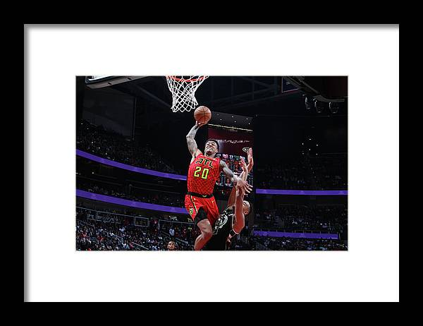 Atlanta Framed Print featuring the photograph John Collins by Jasear Thompson