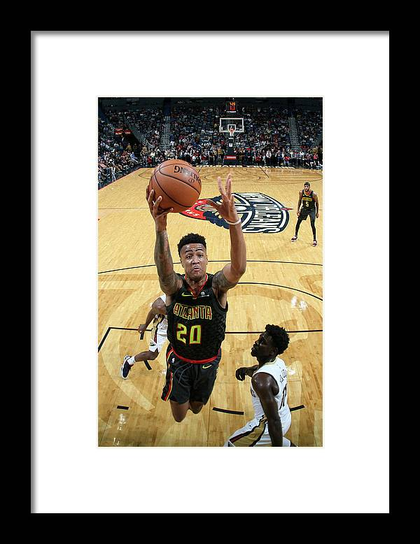 Smoothie King Center Framed Print featuring the photograph John Collins by Layne Murdoch