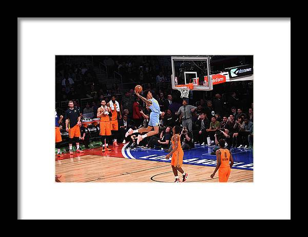 Event Framed Print featuring the photograph John Collins by Noah Graham