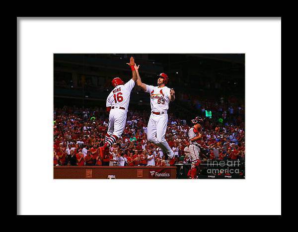 Second Inning Framed Print featuring the photograph John Gant by Dilip Vishwanat