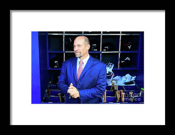 Atlanta Framed Print featuring the photograph John Smoltz by Daniel Shirey