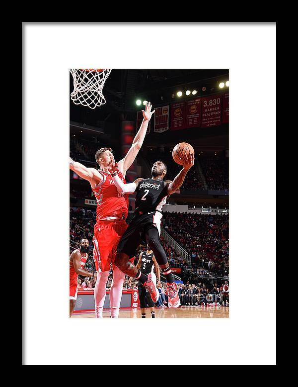 Nba Pro Basketball Framed Print featuring the photograph John Wall by Bill Baptist