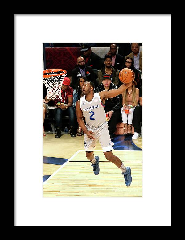 Event Framed Print featuring the photograph John Wall by Layne Murdoch