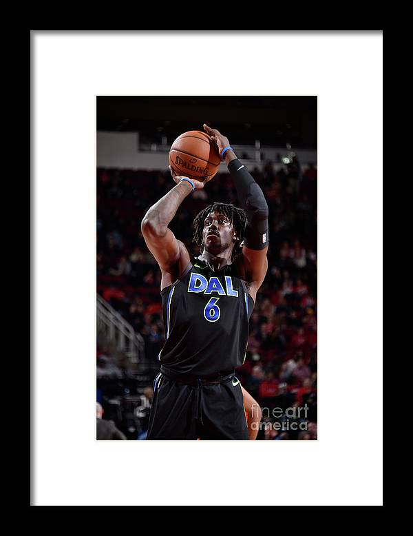 Nba Pro Basketball Framed Print featuring the photograph Johnathan Motley by Bill Baptist