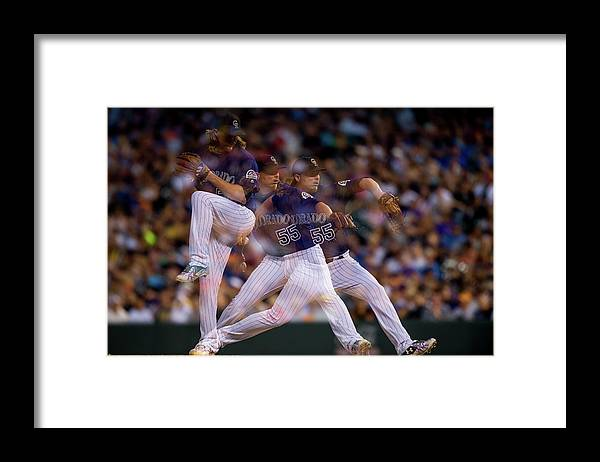 People Framed Print featuring the photograph Jon Gray by Dustin Bradford