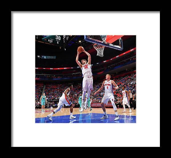 Jon Leuer Framed Print featuring the photograph Jon Leuer by Jesse D. Garrabrant