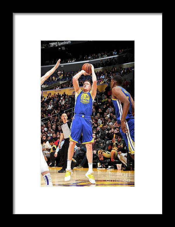 Nba Pro Basketball Framed Print featuring the photograph Jonas Jerebko by Andrew D. Bernstein