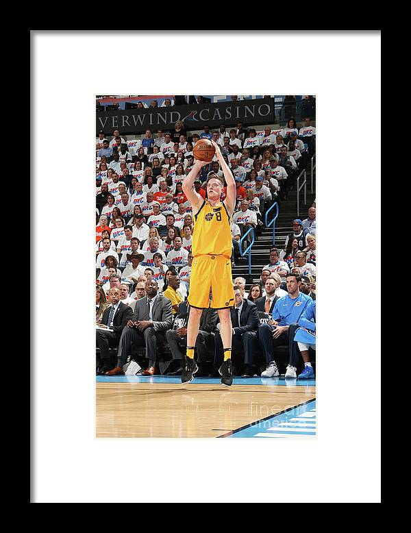 Playoffs Framed Print featuring the photograph Jonas Jerebko by Layne Murdoch