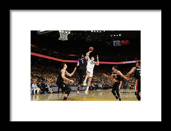 Playoffs Framed Print featuring the photograph Jonas Jerebko by Noah Graham