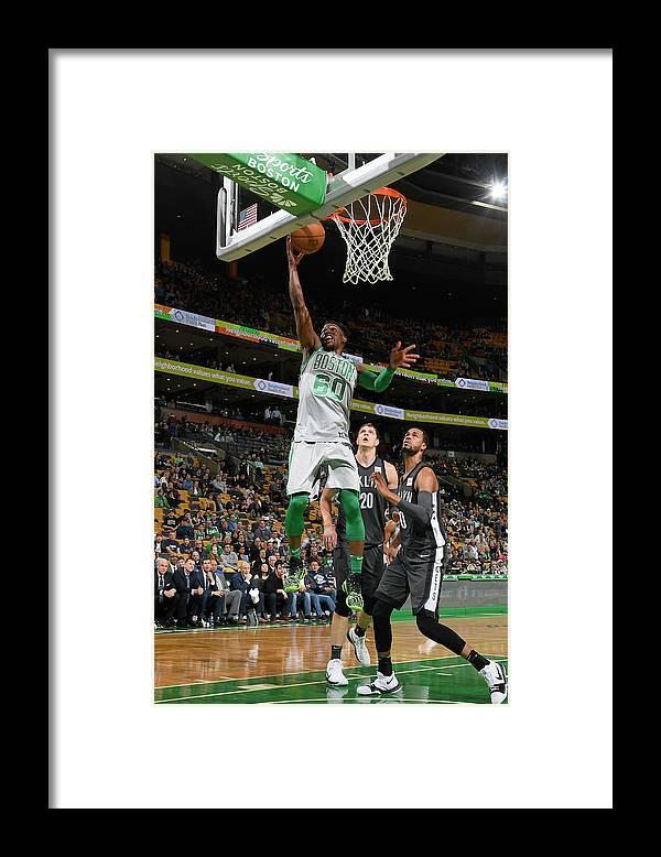 Basketball Team Framed Print featuring the photograph Jonathan Gibson by Brian Babineau