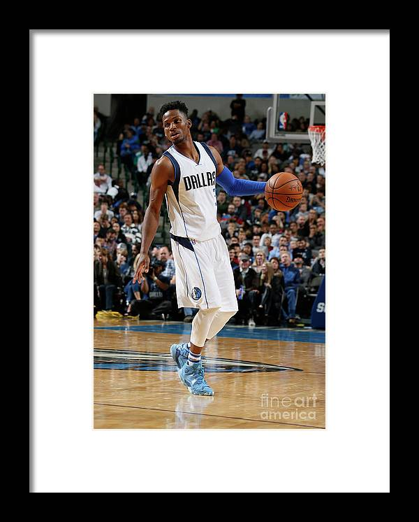 Nba Pro Basketball Framed Print featuring the photograph Jonathan Gibson by Danny Bollinger