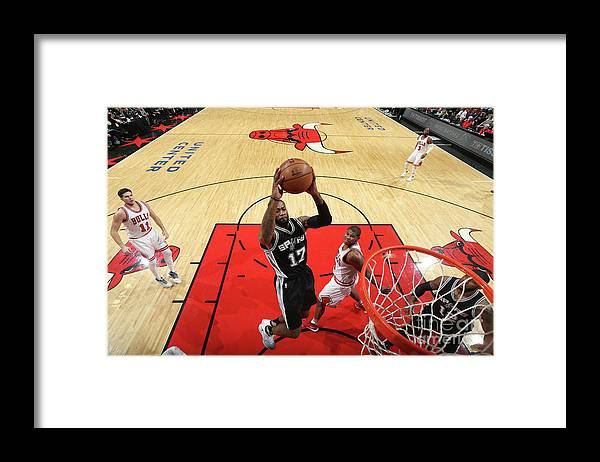 Nba Pro Basketball Framed Print featuring the photograph Jonathon Simmons by Nathaniel S. Butler