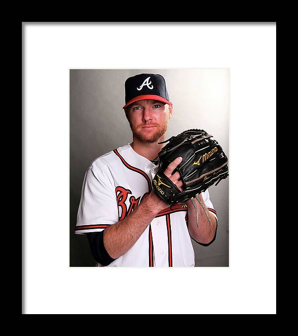Media Day Framed Print featuring the photograph Jonny Venters by Elsa