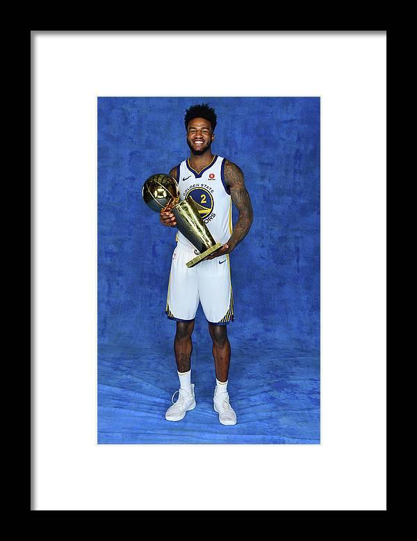 Playoffs Framed Print featuring the photograph Jordan Bell by Jesse D. Garrabrant