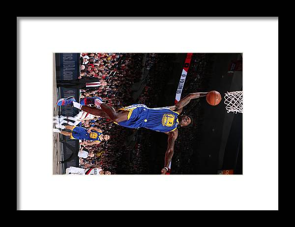 Playoffs Framed Print featuring the photograph Jordan Bell by Sam Forencich