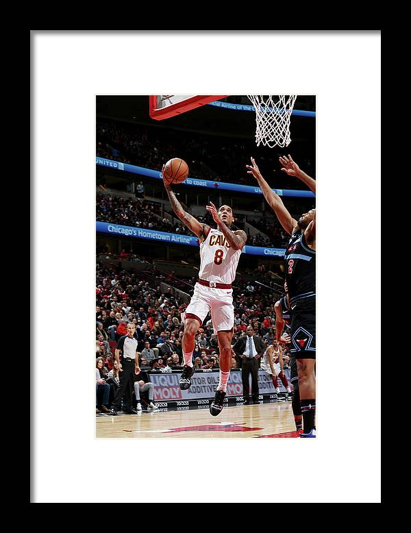 Nba Pro Basketball Framed Print featuring the photograph Jordan Clarkson by Gary Dineen