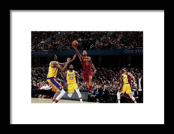 Nba Pro Basketball Framed Print featuring the photograph Jordan Clarkson by Nathaniel S. Butler