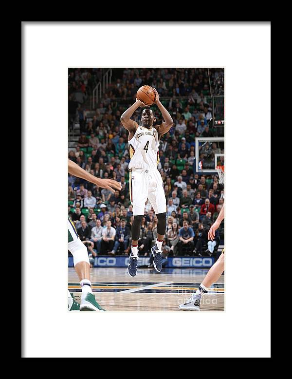 Nba Pro Basketball Framed Print featuring the photograph Jordan Crawford by Melissa Majchrzak