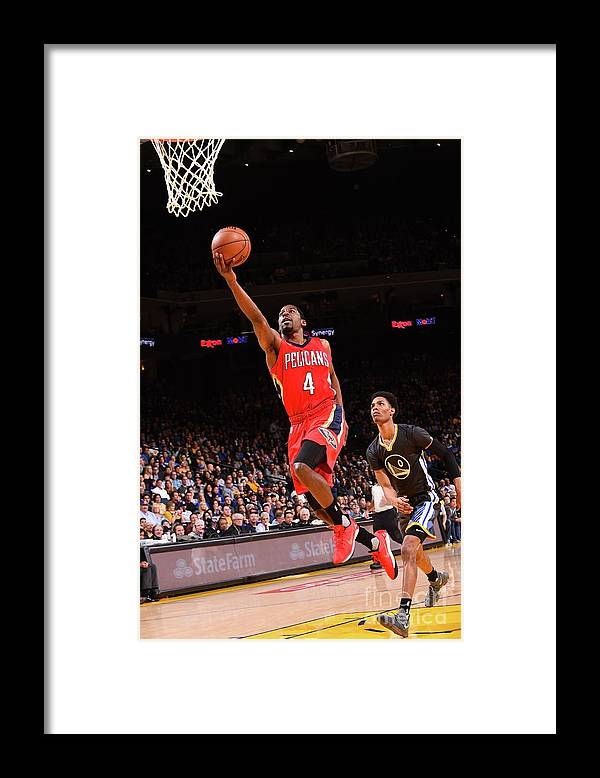 Nba Pro Basketball Framed Print featuring the photograph Jordan Crawford by Noah Graham
