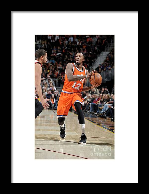 Nba Pro Basketball Framed Print featuring the photograph Jordan Mcrae by David Liam Kyle