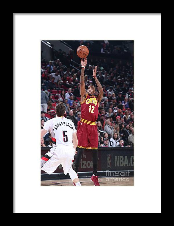 Nba Pro Basketball Framed Print featuring the photograph Jordan Mcrae by Sam Forencich