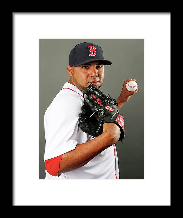 Media Day Framed Print featuring the photograph Jose Mijares by Elsa