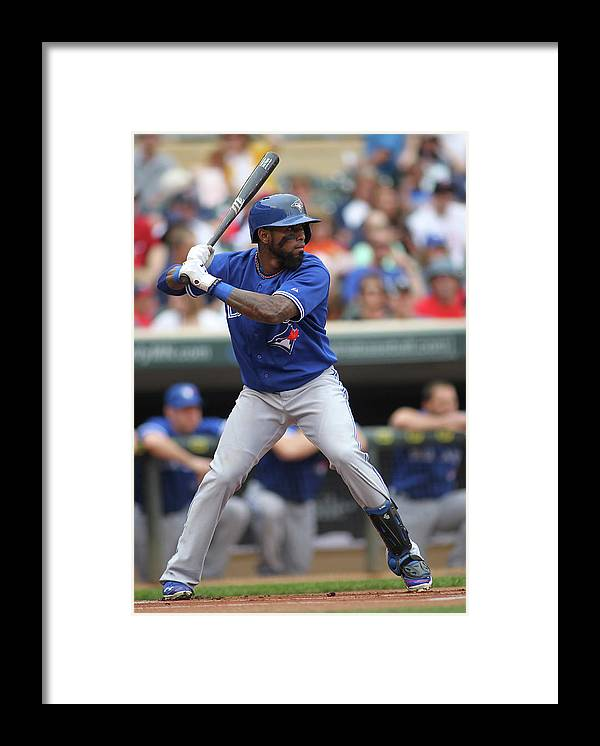 American League Baseball Framed Print featuring the photograph Jose Reyes by Andy King