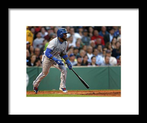 Second Inning Framed Print featuring the photograph Jose Reyes by Jim Rogash
