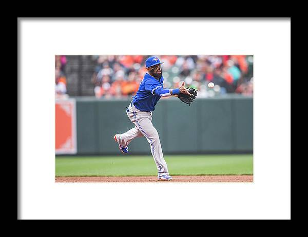 Double Play Framed Print featuring the photograph Jose Reyes by Rob Tringali