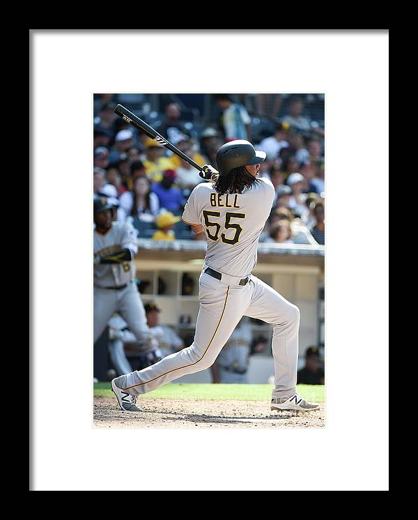 Ninth Inning Framed Print featuring the photograph Josh Bell by Denis Poroy