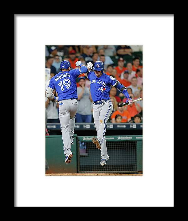 People Framed Print featuring the photograph Josh Donaldson by Bob Levey