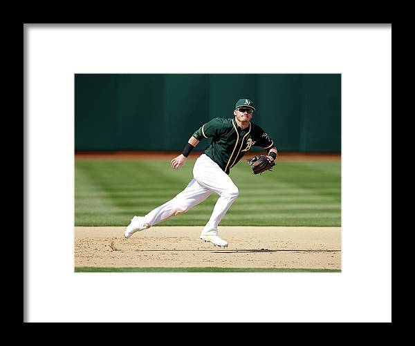 American League Baseball Framed Print featuring the photograph Josh Donaldson by Ezra Shaw