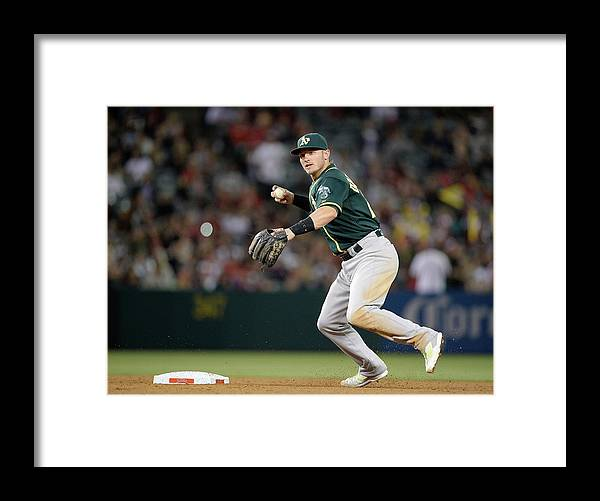 American League Baseball Framed Print featuring the photograph Josh Donaldson by Harry How