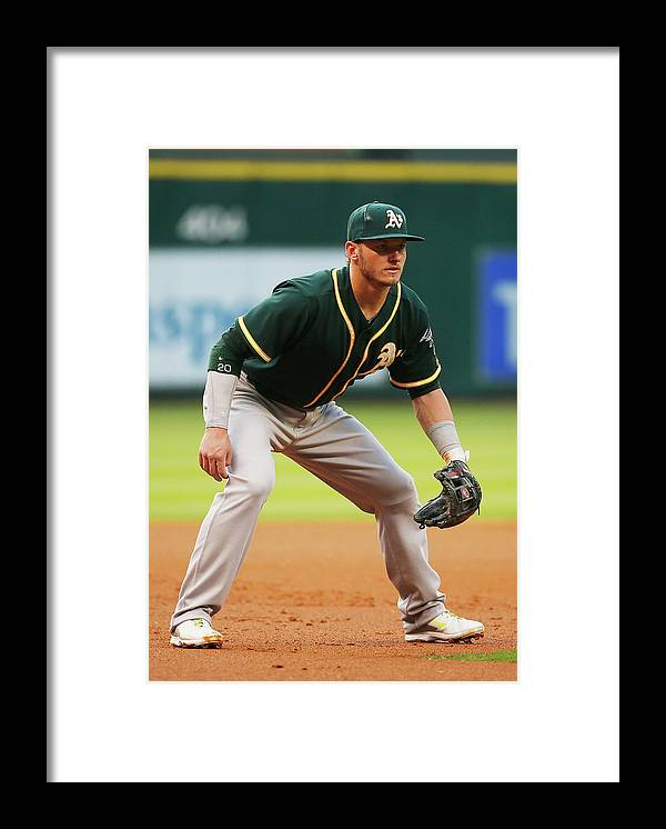 American League Baseball Framed Print featuring the photograph Josh Donaldson by Scott Halleran