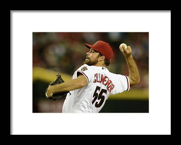 Second Inning Framed Print featuring the photograph Josh Fields by Norm Hall