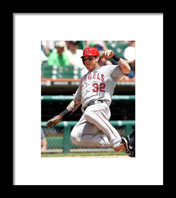 American League Baseball Framed Print featuring the photograph Josh Hamilton and Brad Hawpe by Duane Burleson
