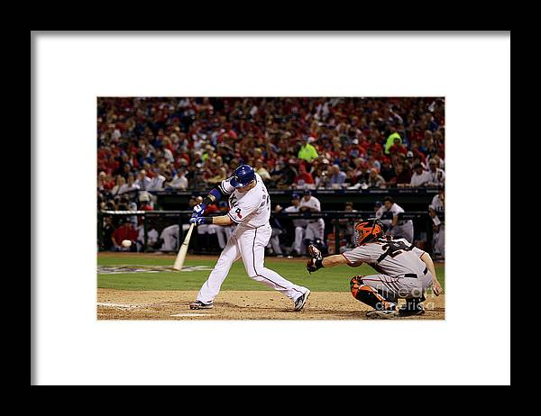People Framed Print featuring the photograph Josh Hamilton by Elsa