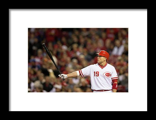 Great American Ball Park Framed Print featuring the photograph Josh Harrison and Joey Votto by Taylor Baucom