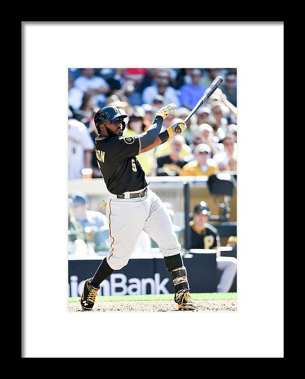 California Framed Print featuring the photograph Josh Harrison by Denis Poroy