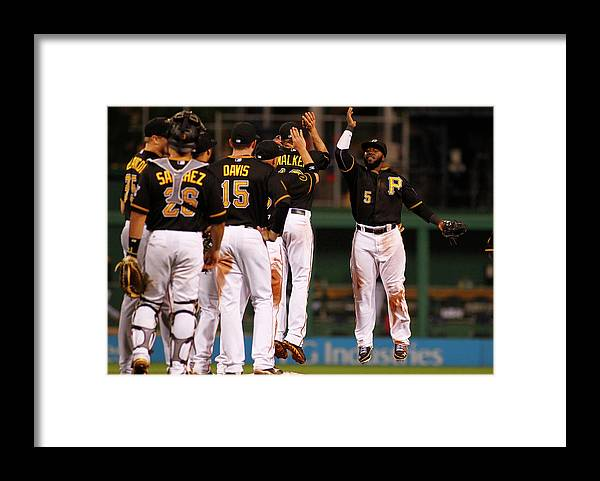 Professional Sport Framed Print featuring the photograph Josh Harrison by Justin K. Aller